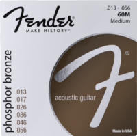 Fender 60M 13-56 Phosphor Bronze Acoustic Guitar Strings