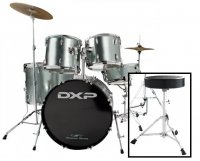 DXP TX04PGMG Drum Rock Kit With Stool and Cymbals