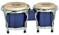 MP Junior Tunable Bongos 4inch and 5 inch Blue