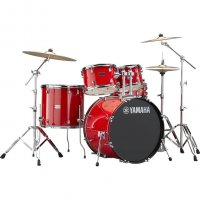 "Yamaha Rydeen Acoustic Drum Kit 22"" Red"
