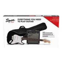 Fender Squier Electric Guitar Starter Package Black