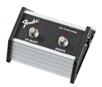 Fender 2-Button Footswitch Channel Select-Effects On-Off