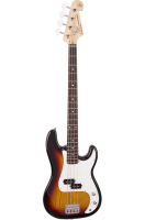SX Bass Guitar 4 String PB Style Sunburst