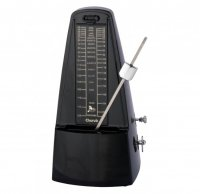 Cherub Pyramid Mechanical Metronome Black