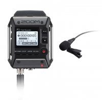 Zoom F1-LP F1 Field Recorder and Lavalier Microphone