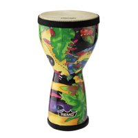 Remo Doumbek Kids Percussion 6inch Rainforest
