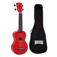 Mahalo MR1 Ukulele Red With Carry Bag