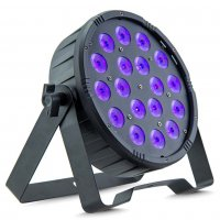 TRI-FLAT Tri Colour LED Par Can 18x3W by AVE