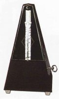 Wittner Pyramid Mechanical Metronome Black