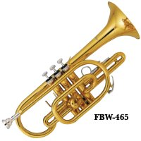 Fontaine FBW465 B Flat Cornet with ABS Case