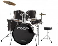 DXP TX04PB Drum Rock Kit With Stool and Cymbals