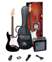 SX SE1SKBK Electric Guitar Pack Black