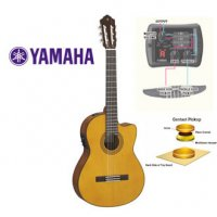 Yamaha CGX122MSC Electric Acoustic Classical Nylon Guitar