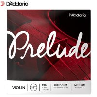 Daddario Prelude Violin Strings Set 1/16 Size Scale Medium