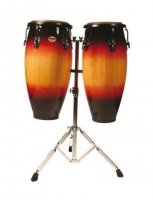 MP MP1601SB Congas 10 and 11 inch with Stand Sunburst