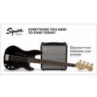Fender Squier Precision Bass Pack with Rumble 15 Black
