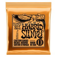 Ernie Ball Hybrid Slinky Nickel Wound Guitar Strings 9-46 Gauge