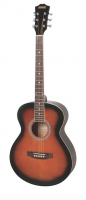 Redding Grand Concert Spruce Top Left Handed Tobacco Sunburst