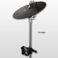 10-inch Cymbal Pad with Attachment to Rack System