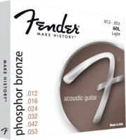 Fender 60L 12-53 Phosphor Bronze Acoustic Guitar Strings