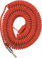 VOX VCC090RD 9m Red Vintage Coiled Cable