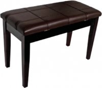 AMS KTW12W Piano Stool Wooden Bench Walnut