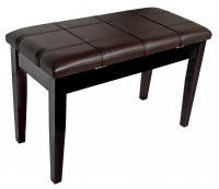AMS KTW12M Piano Stool Wooden Bench Mahogany