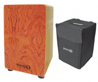 MP Drummers Cajon Rosewood Veneer with Carry Case