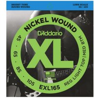 Daddario EXL165 Nickel Wound Bass 45-105 Long Scale Strings