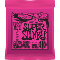 Ernie Ball 9-42 Super Slinky Nickel Wound