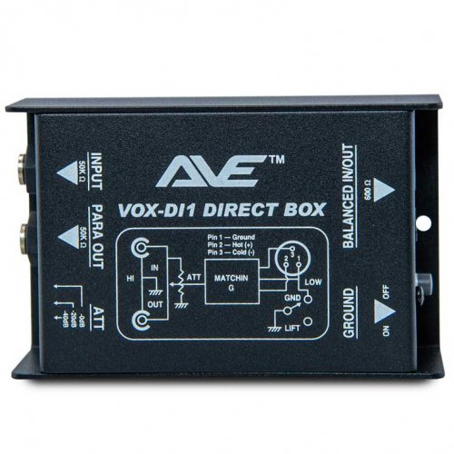 Vox-DI1 Passive DI Box by AVE
