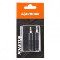 "Armour ADAP1 1/4"" Jack Female to Male 3.5mm AUX Stereo Adaptor"