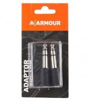 "Armour ADAP2 3.5mm Female to Male 1/4"" Stereo Jack Adaptor"