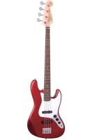 SX Bass Guitar 4 String JB Style Candy Apple Red
