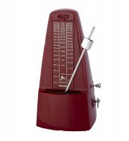 Cherub Pyramid Mechanical Metronome Red