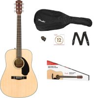 Fender CD-60S DREADNOUGHT PACK V2 NATURAL - CD60S