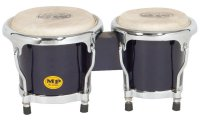 MP Junior Tunable Bongos 4inch and 5 inch Black