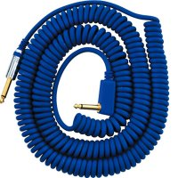 VOX VCC090BL 9m Blue Vintage Coiled Cable