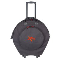 Xtreme DA584W 22inch Cymbal Bag Case Wheels + Retractable Handle