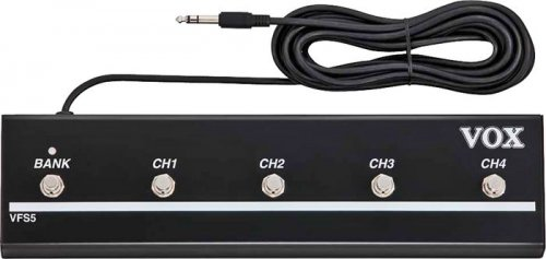 VOX VFS5 5 way foot controller FOR VT Series AMPS