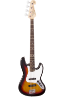 SX Bass Guitar 4 String JB Style Sunburst