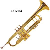 Fontaine Trident FBW483 B Flat Trumpet with Heavy Duty Case