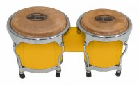 MP Junior Tunable Bongos 4inch and 5 inch Yellow