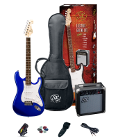 SX SE1SKEB Electric Guitar Pack Blue