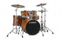 Yamaha Stage Custom Birch Kit Honey Amber With HW780 Hardware