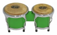 MP Junior Tunable Bongos 4inch and 5 inch Green