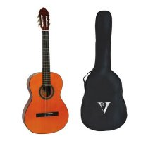 Valencia 4/4 Full Size Classical Guitar Pack NATURAL