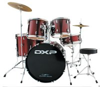 DXP TX04PWR Drum Rock Kit With Stool and Cymbals