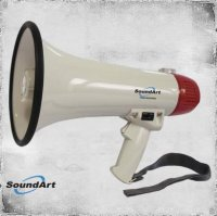 SoundArt SLH-815-RED Megaphone 15 Watt