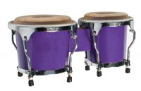 MP Junior Tunable Bongos 4inch and 5 inch Purple
